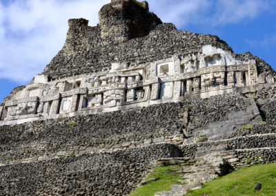 Xunantunich - The second tallest ruin in the country.
