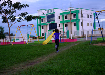 Playground: The park is relatively new, and is perched on the highest hill in town. It is such a gift to live near here!