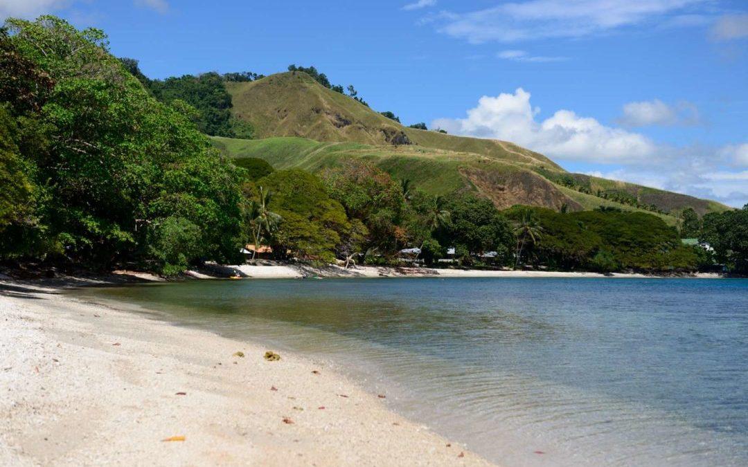 Arriving to the Solomon Islands