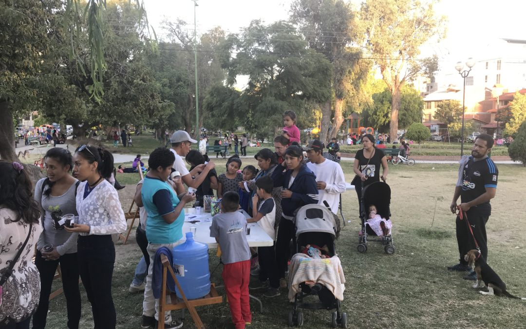 Messy Church – Bolivian Style