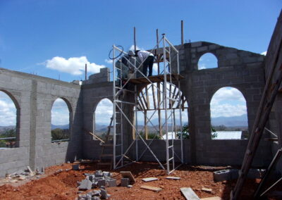building the Anglican church