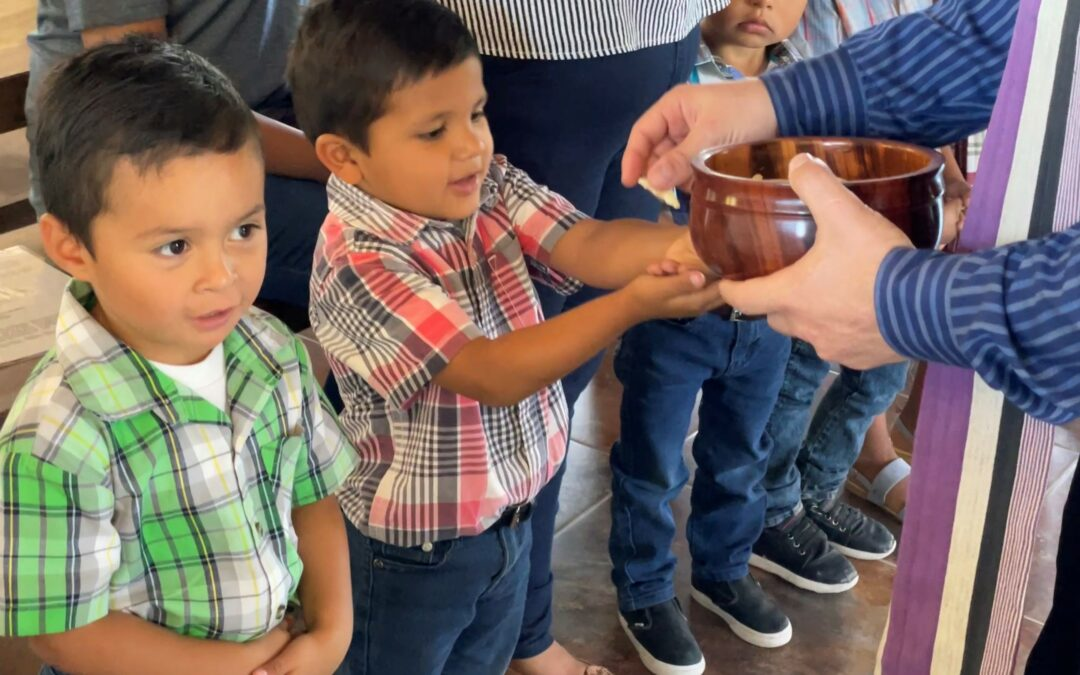 Back Home Worshipping with Honduran Children