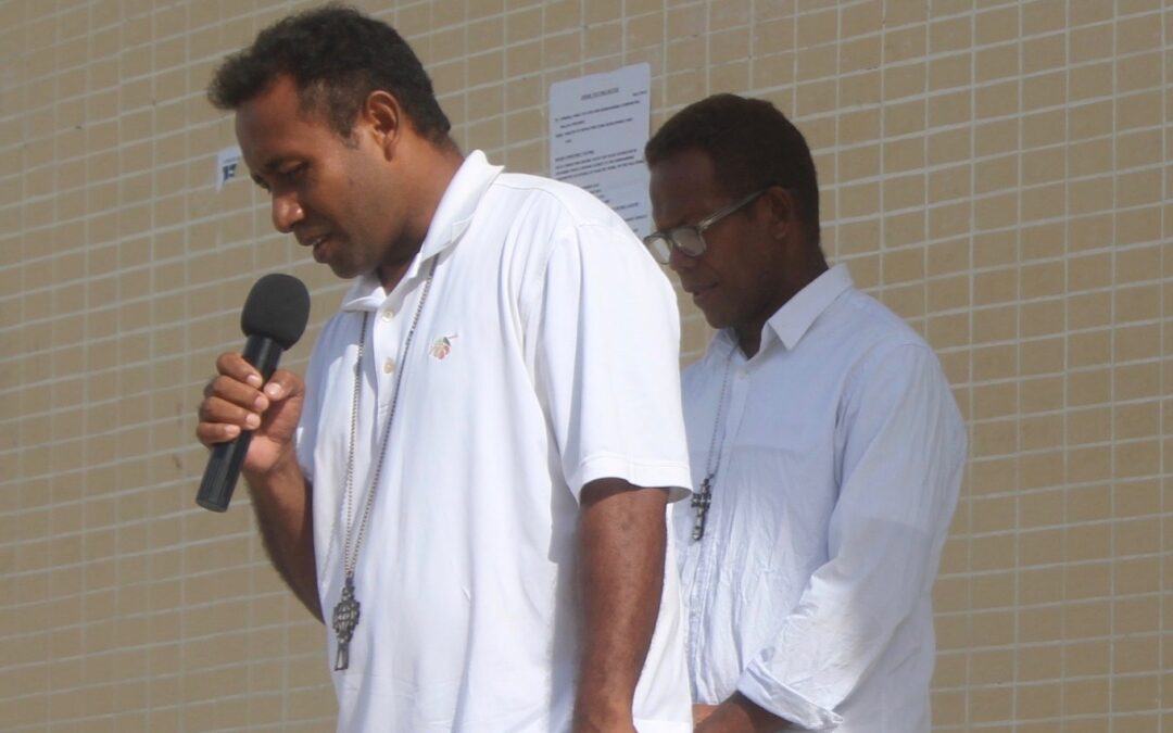 Help two Melanesian priests receive further leadership training for their Gospel work in the Solomon Islands