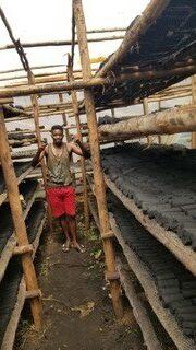 douglas char briquettes business in progress